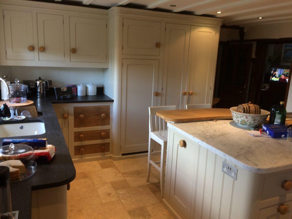Kitchen cabinet painter mark wilkinson essendon hertfordshire