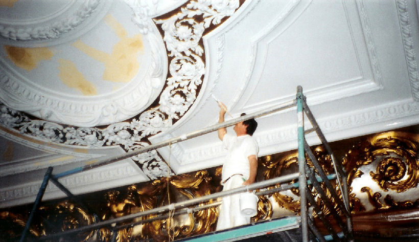 Chris Graham interiors Gilding