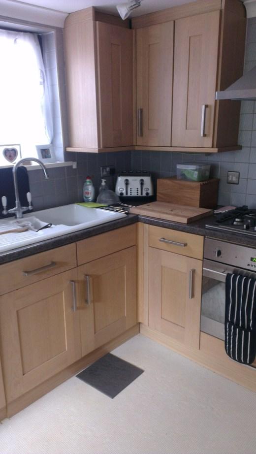Painted kitchen Letchworth Hertfordshire