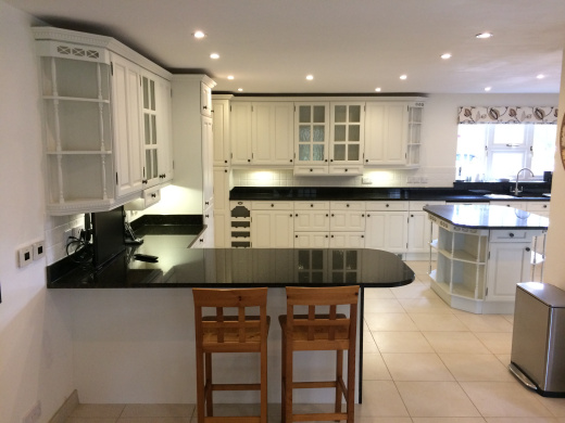 Hand painted kitchens in Bedfordshire