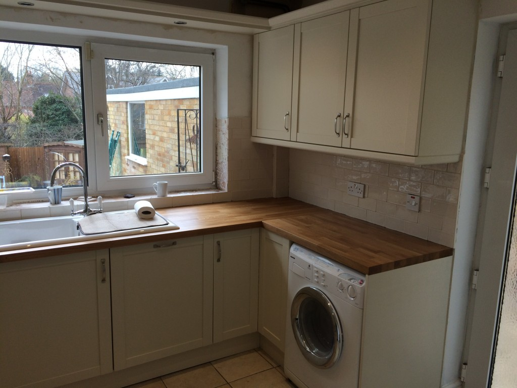 Hand painted kitchen Kimpton Hertfordshire