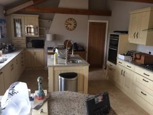 Hand painted kitchen Northamptonshire