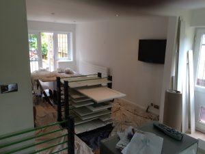 Kitchen cabinet painter Stevenage Hertfordshire