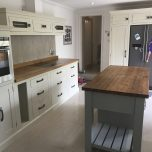 A kitchen that had been neglected in Dunstable, Bedfordshire getting a fresh new look.