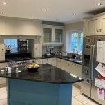 Transforming a tired looking Oak kitchen in Chalfont St Giles, Buckinghamshire.