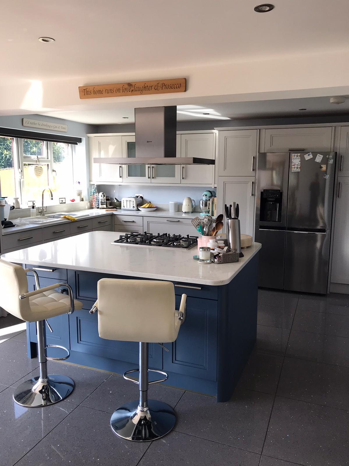 Kitchen cabinet painter Wooburn Green Buckinghamshire